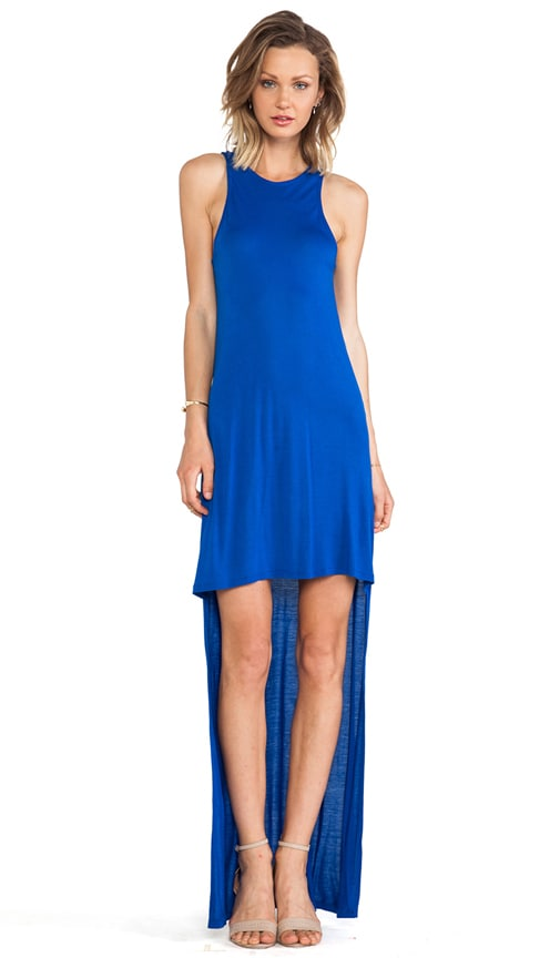Elissa High-Low Jersey Dress