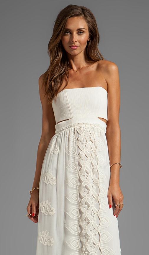 Greta Strapless Gown