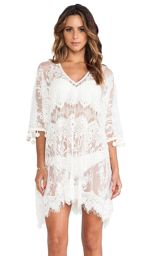 Minn Pom Pom Caftan Dress