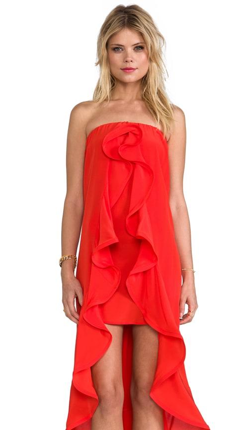 Musa Dress With Ruffles