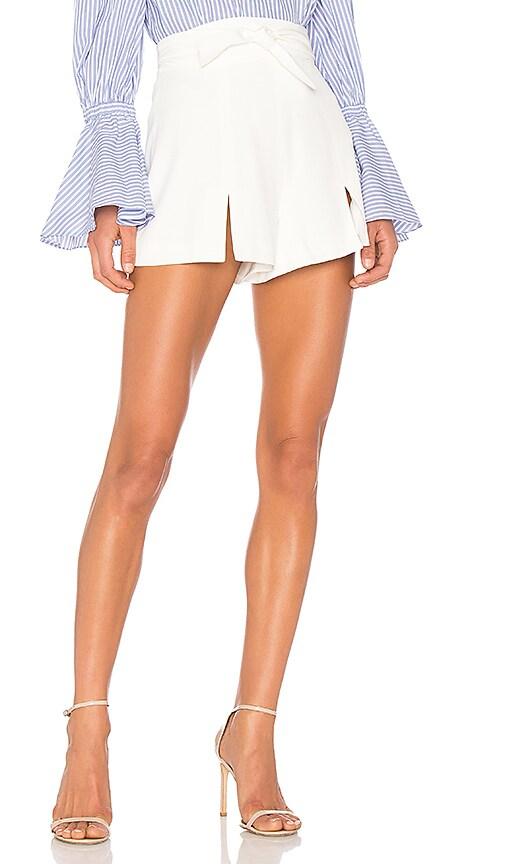 Alexis Newton Short in White
