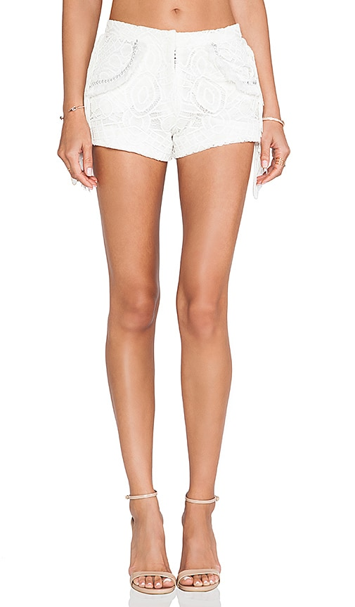 Brixia Fringe Detail Shorts
