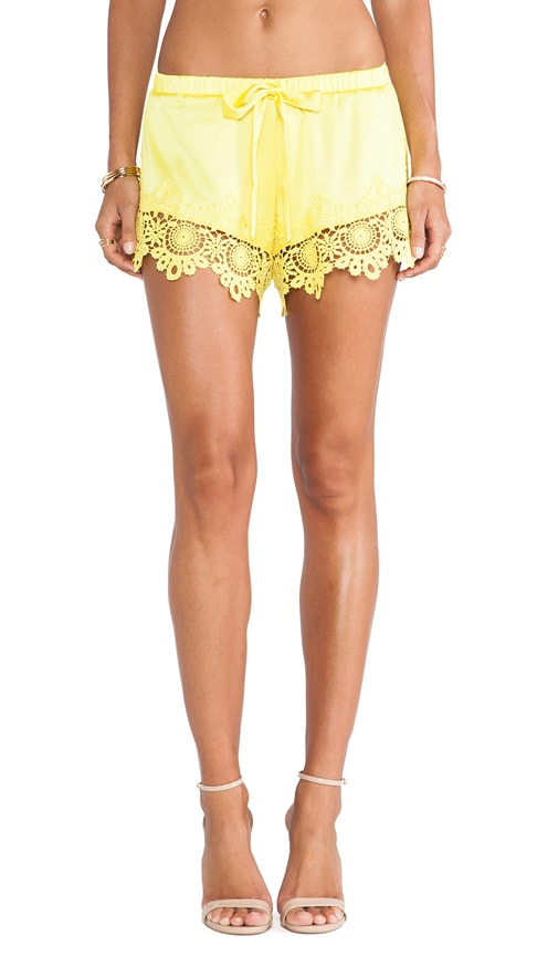 Gozo Crochet Trimmed Shorts