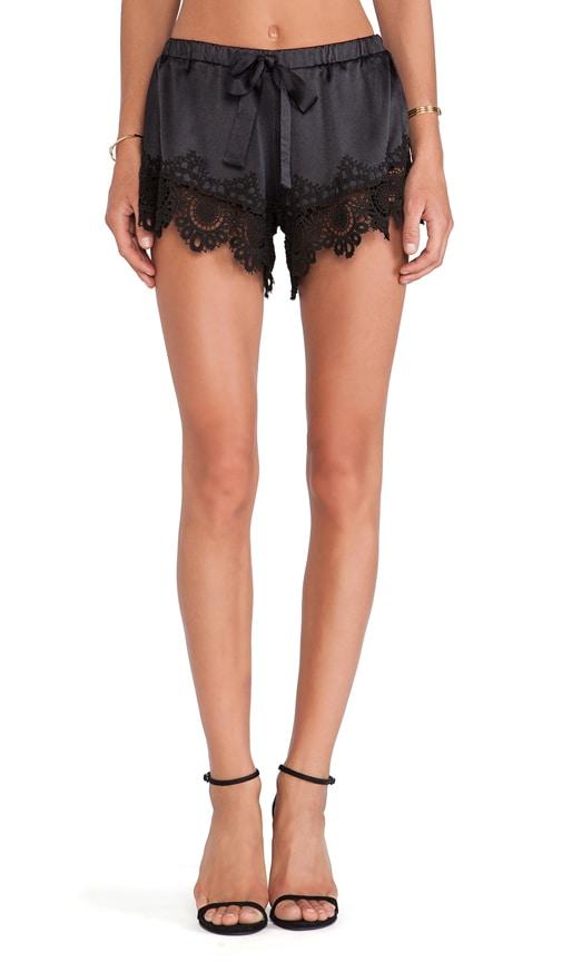 X REVOLVE Gozo Crochet Trimmed Shorts