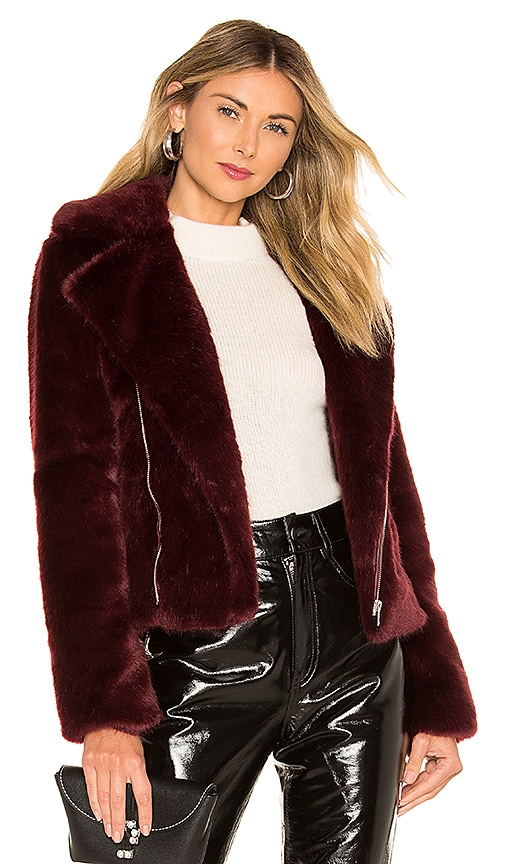 Shura Faux Fur Jacket