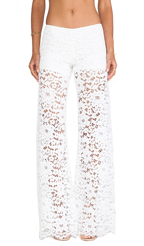 Madrid Wide Leg Lace Pants
