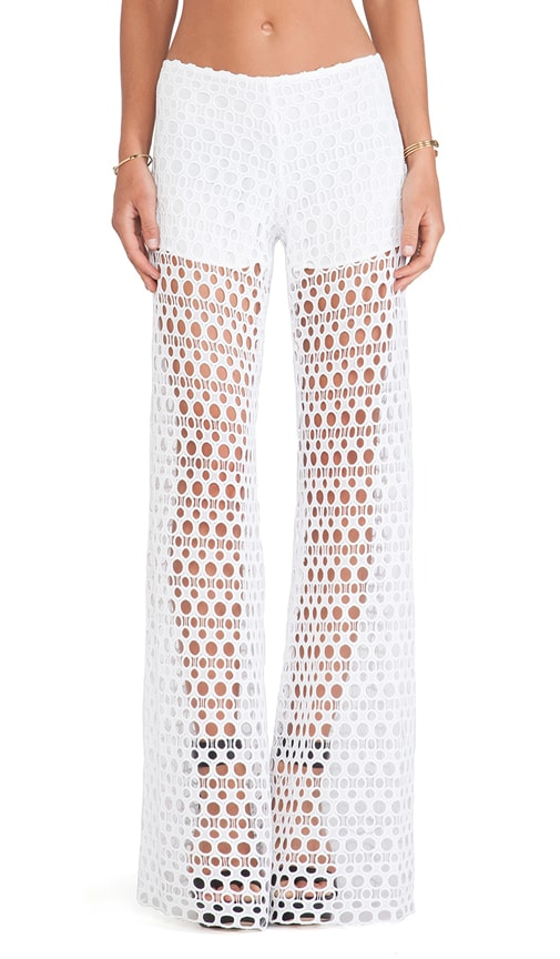 Madrid Wide Leg Crochet Pants