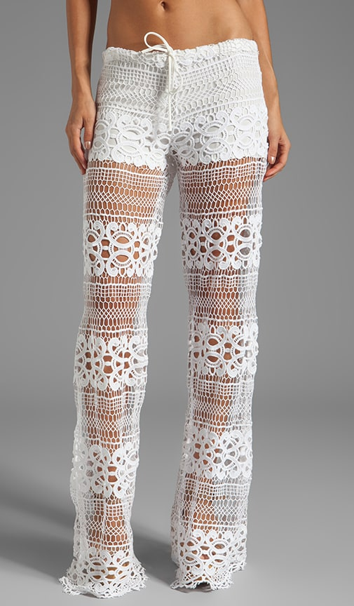 Michela Lace Pant With Drawstring