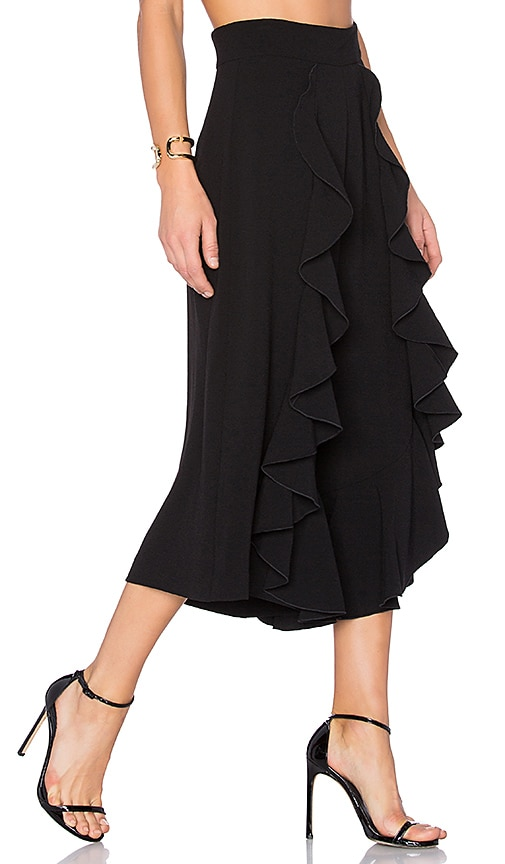 Alexis Mulan Culottes in Black