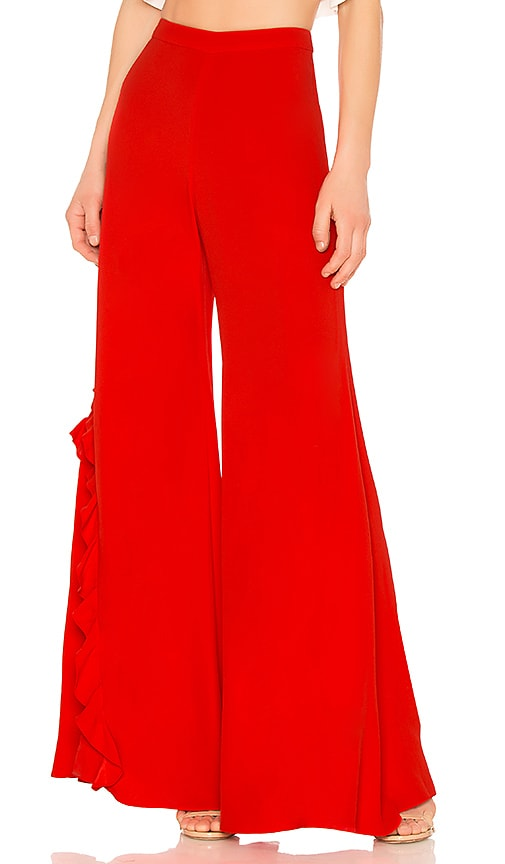 Alexis Teri Pant in Red