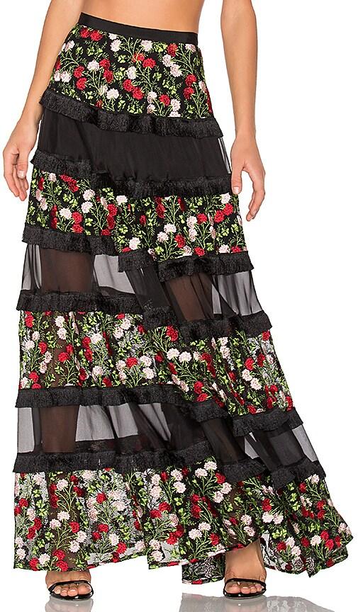 Alexis Carosini Skirt in Black