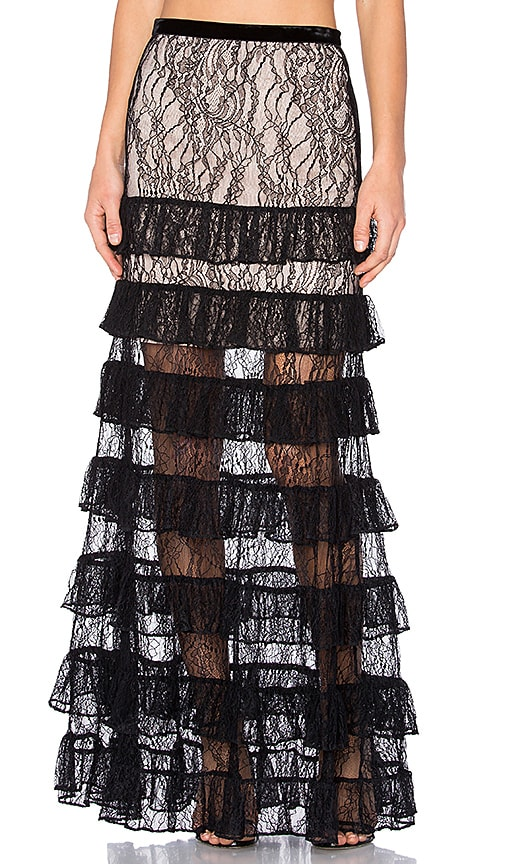 Alexis Vicky Skirt in Black