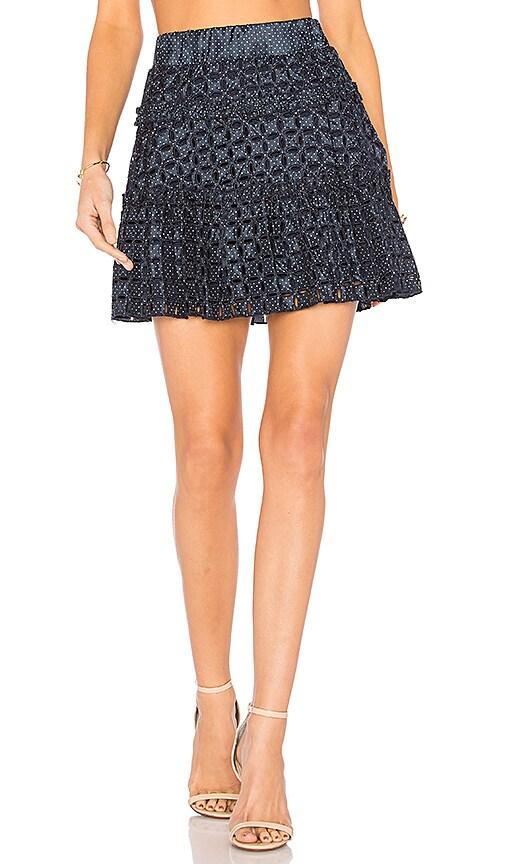 Alexis Antonina Skirt in Blue
