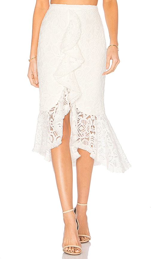 Alexis Marcello Skirt in White