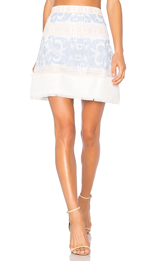 Alexis Anzel Skirt in White
