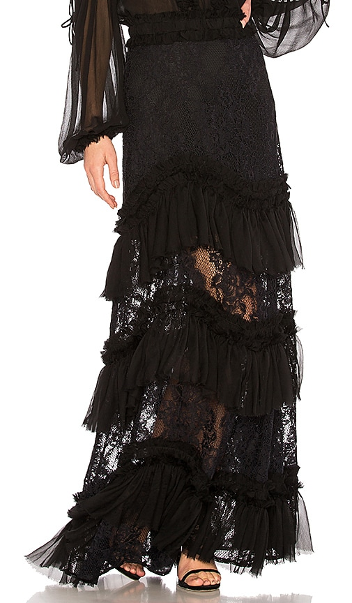 Alexis Zella Lace Skirt in Black