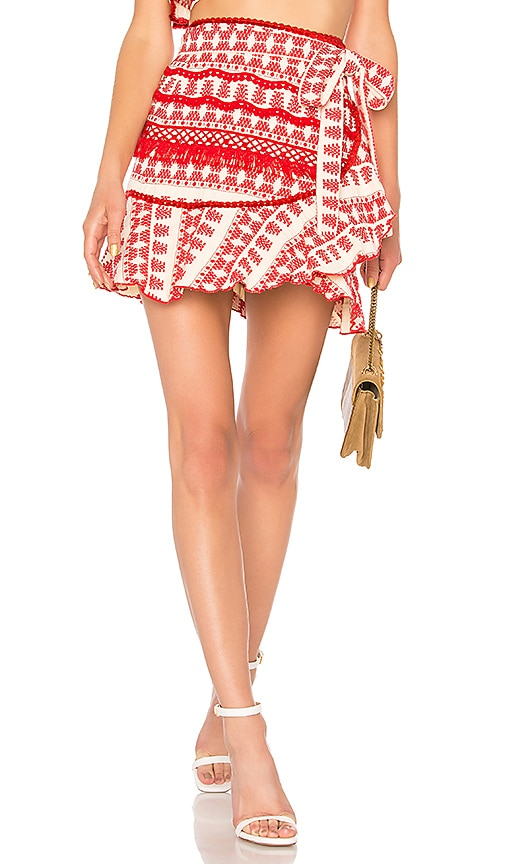 Alexis Marti Skirt in Red