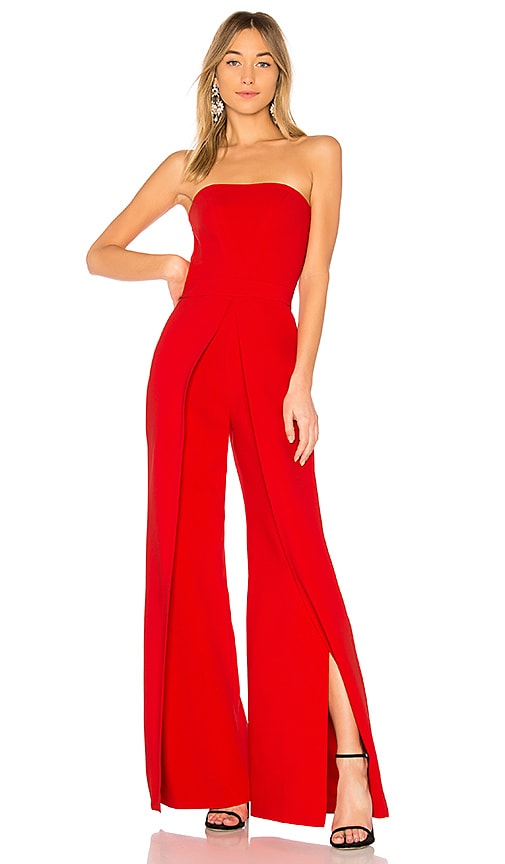 Alexis Carice Jumpsuit in Red