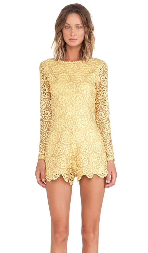 Izu Long Sleeve Romper