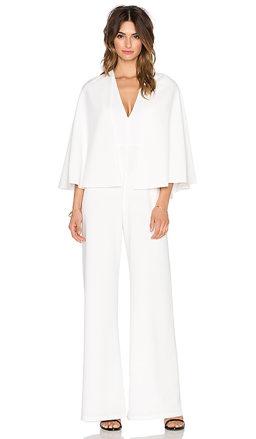 Amadeo Removable Cape Jumpsuit