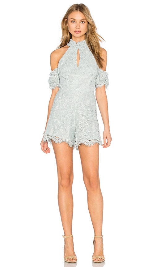 Alexis Adele Romper in Green