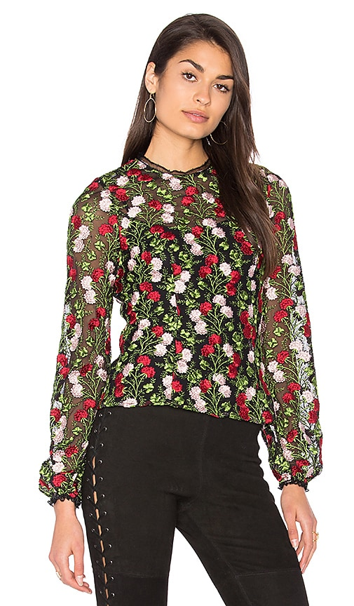 Alexis Aida Blouse in Red