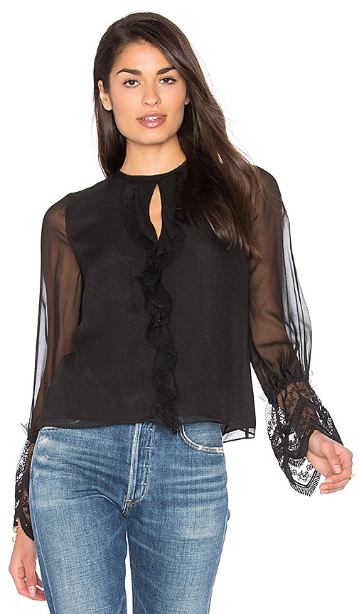 Alexis Luma Top in Black
