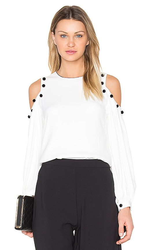Alexis Erica Blouse in White
