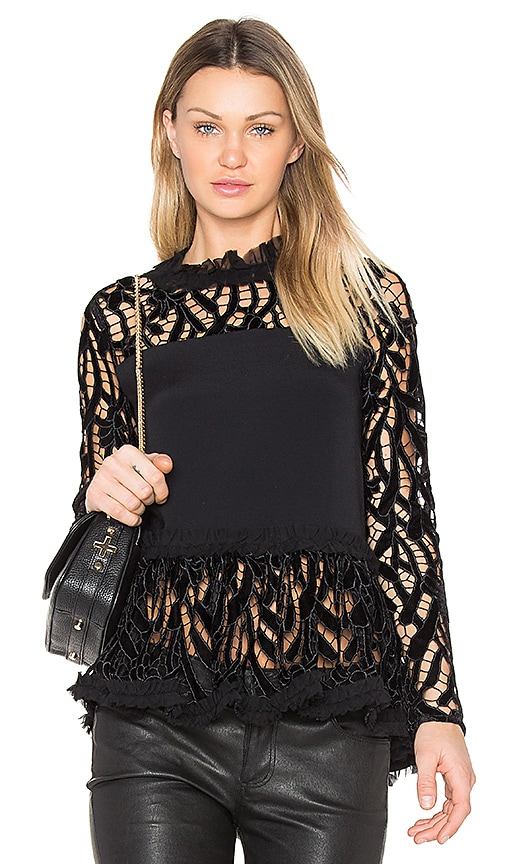 Alexis Karl Top in Black