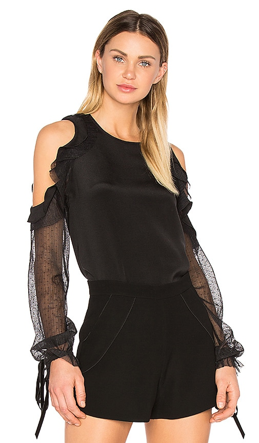Alexis Fernand Blouse in Black