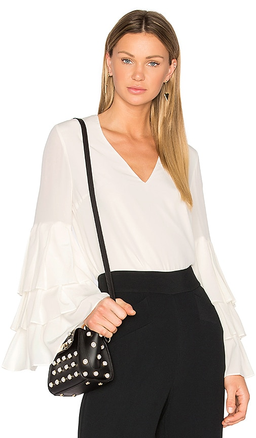 Alexis Valencia Blouse in White