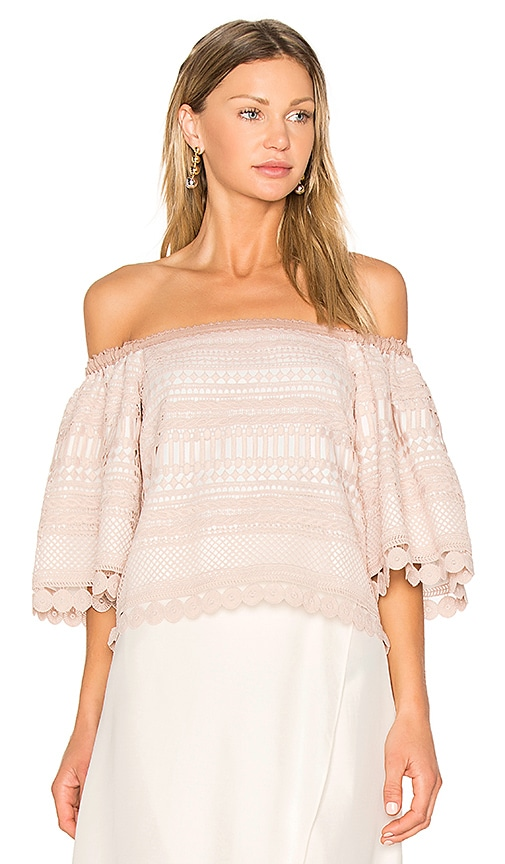 Alexis Finn Top in Beige
