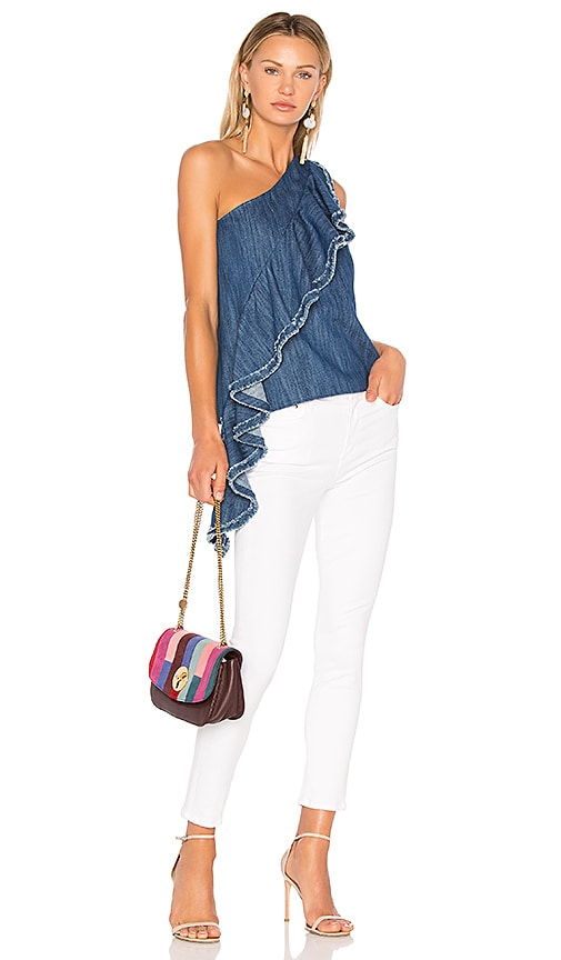 Alexis Donella Tank in Denim