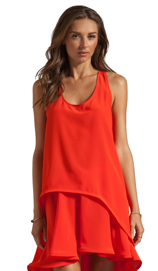 Ernesta High-Low Racer Back Top