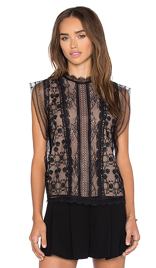 Alexis Essie Top in Black