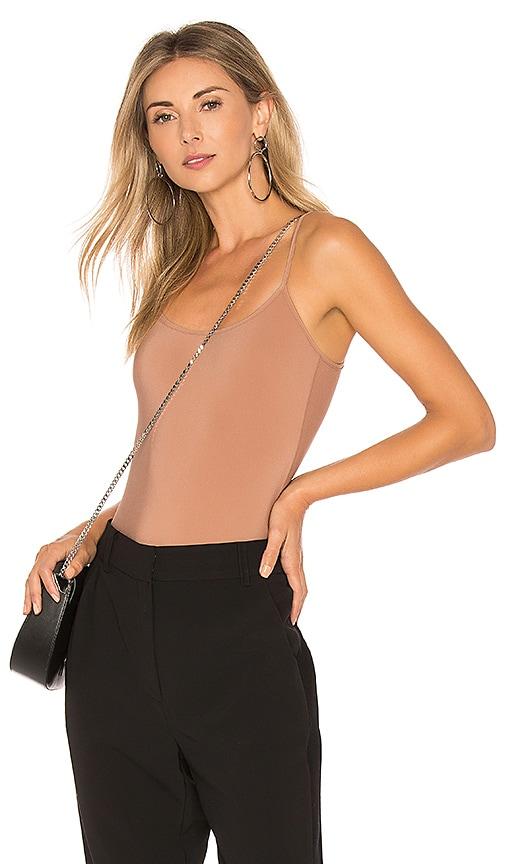 Alix Elizabeth Bodysuit in Brown