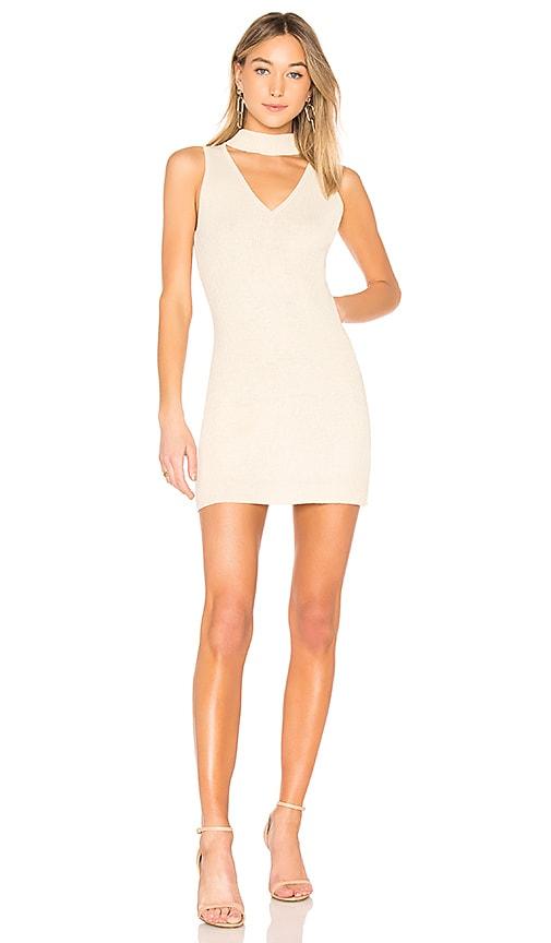 AYNI Leo Mini Dress in Cream