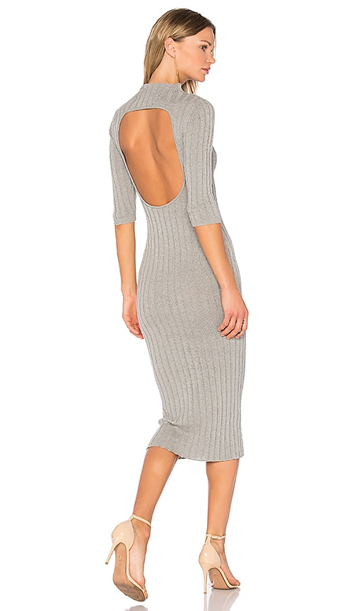 AYNI Nieves Sweater Dress in Gray