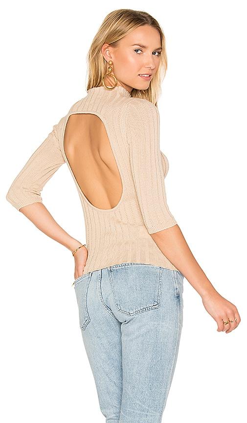 AYNI Nevada Rib Sweater in Tan