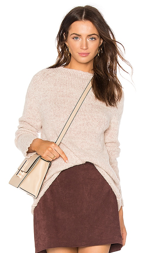 AYNI Zapina Oversized Sweater in Blush