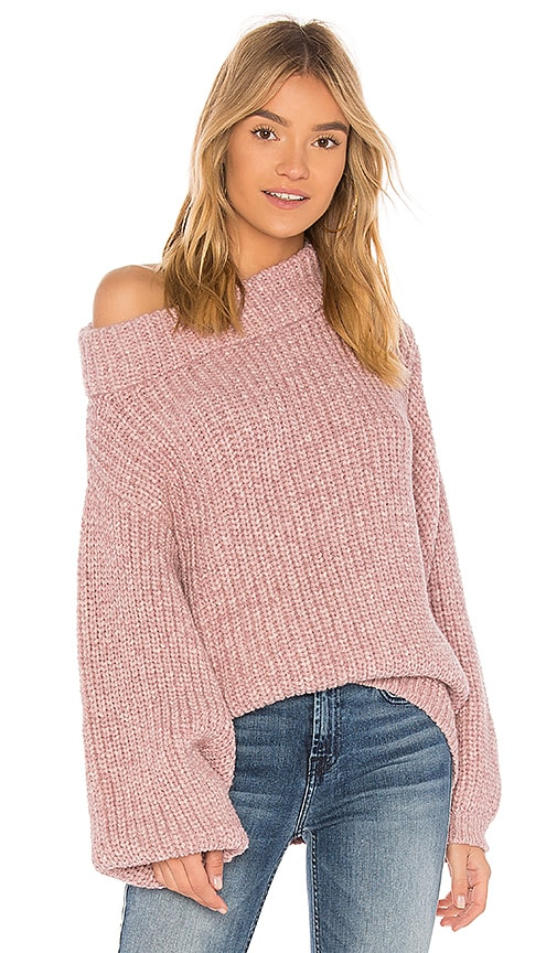 AYNI Colette Sweater in Rose