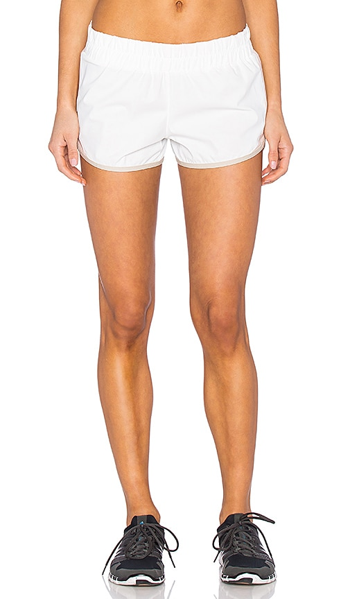 B3.0 B Active Colorblock Short in Warm White & Pink Sand
