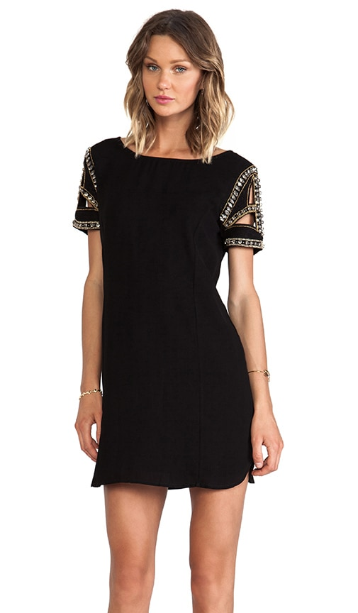 Calpton Embellished Sleeve Dress