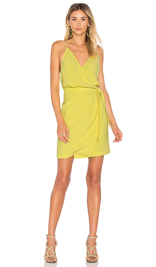 ba&sh Justine Dress in Yellow