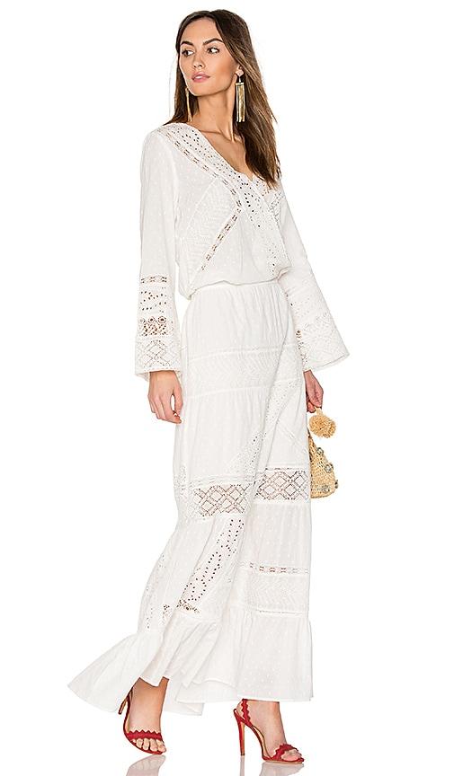 ba&sh Erin Dress in White