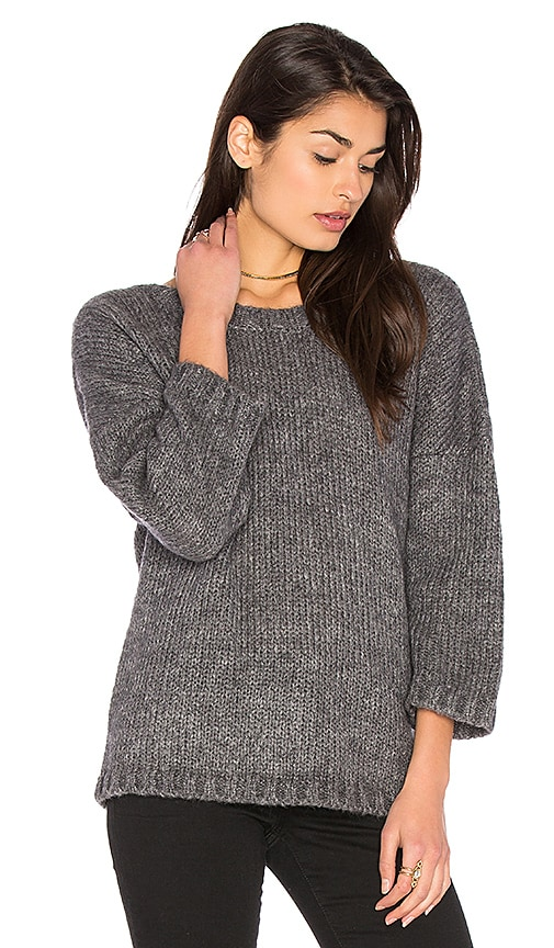 ba&sh Impala Sweater in Gray
