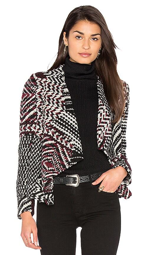 ba&sh Ilda Jacket in Black & White