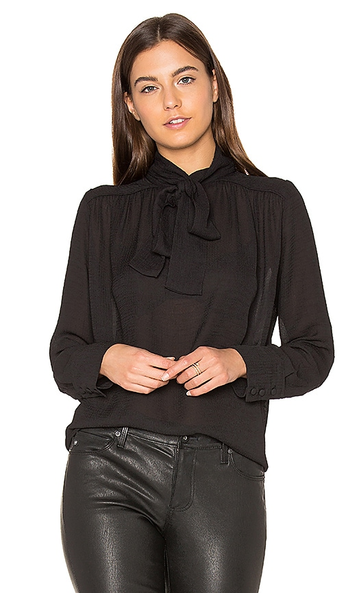 ba&sh Nana Blouse in Black