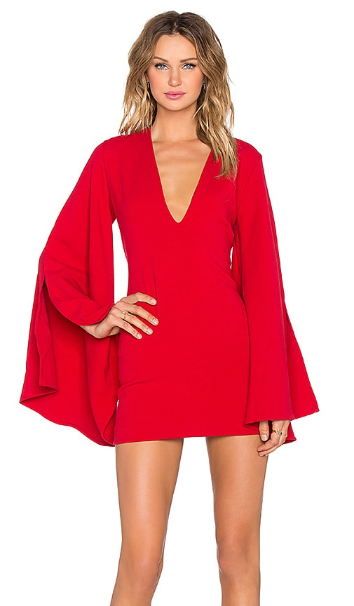 Backstage x REVOLVE Emily Dress in Red