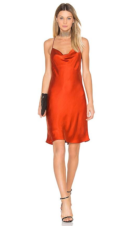 Backstage Jennifer Dress in Orange